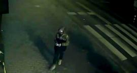 Pomalował elewacje budynków w Mysiadle - policja poszukuje