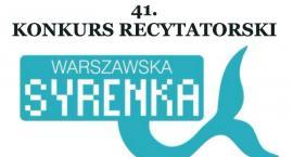 41. Konkurs Recytatorski Warszawska Syrenka 2018 (28-03-2018)