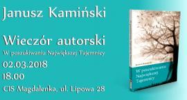 Wieczór autorski Janusza Kamińskiego (02-03-2018)