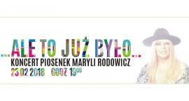Koncert piosenek Maryli Rodowicz