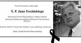Zmarł Jan Trzciński - pogrzeb 9 kwietnia
