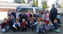 Lekcja o bezpieczeństwie dla przedszkolaków z Chynowa