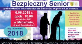 Bezpieczny Senior - 6 czerwca. Mroków (06-06-2018)