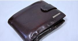 24- latek zgubił portfel na miejscu przestępstwa