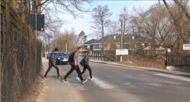 Akcja obywatelska w sprawie przejść dla pieszych w Skolimowie