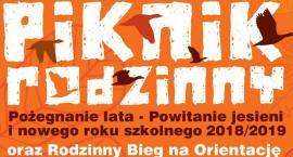 Piknik rodzinny Pożegnanie lata - powitanie jesieni 2018/2019