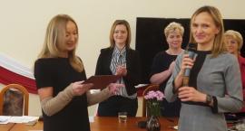 Pierwsza Sesja Rady Gminy Lesznowola. Ślubowanie Pani Wójt.