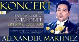 Alexander Martinez. Koncert z ok. Lesznowolskiego Dnia Kobiet 2019. Łazy(02-03-2019)