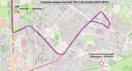 Zamknięcie skrzyżowania ulic Geodetów i Julianowskiej w Józefosławiu