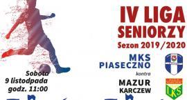 Mecz MKS Piaseczno - Mazur Karczew