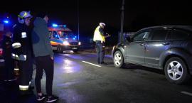 Wypadek z udziałem pieszego w Bobrowcu