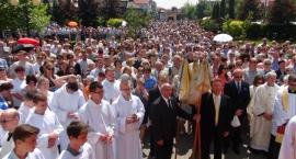 Procesja Bożego Ciała w Piasecznie.