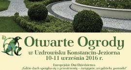 Festiwal Otwarte Ogrody Konstancin