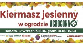 Kiermasz jesienny w ogrodzie Acrocony