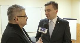 Spotkanie z posłem Łukaszem Schreiberem z PiS