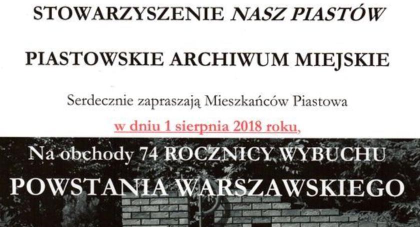 Wydarzenia, sierpnia Piastów pamięta! - zdjęcie, fotografia
