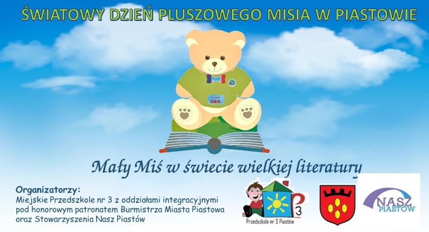 Edukacja, Światowy Dzień Pluszowego Misia - zdjęcie, fotografia