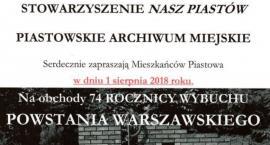 1 sierpnia 1944 - Piastów pamięta!