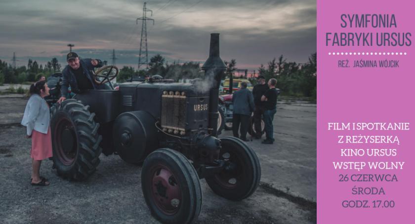 Seniorzy, Symfonia fabryki Ursus pokaz filmu spotkanie reżyserką - zdjęcie, fotografia