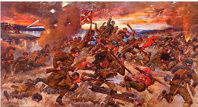 Historia, sierpnia Dzień Wojska Polskiego rocznicę Bitwy Warszawskiej była Europy - zdjęcie, fotografia