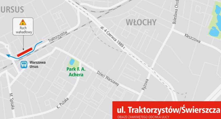 INWESTYCJE DROGOWE, ulicy Świerszcza dzisiaj sierpnia jednokierunkowy - zdjęcie, fotografia