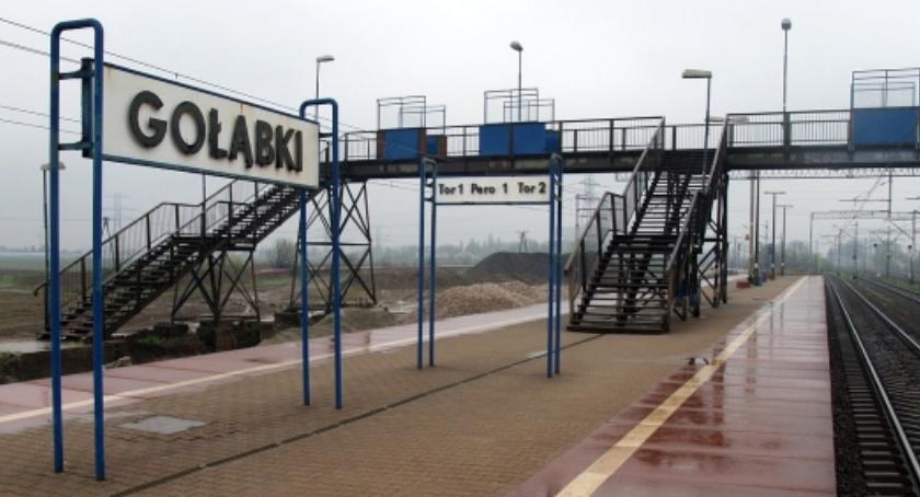 Niedaleko stacji Ursus Gołąbki na torach zginął nieostrożny pieszy, potrącony przez pociąg