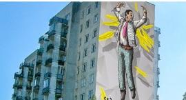 Niech murale ożywią w Ursusie nudny pejzaż blokowisk spółdzielni Ursus, Miś i Niedźwiadek