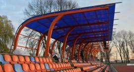 Zadaszenie trybuny na stadionie OSiR Ursus