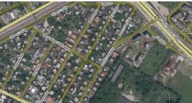 Ulica Poczty Gdańskiej krzyżuje się sama ze sobą aż w trzech kierunkach