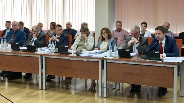 Aktualności_, Zarząd Powiatu Pruszkowskiego absolutorium - zdjęcie, fotografia