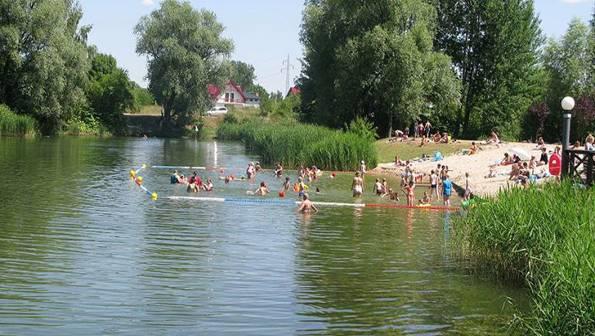 rozrywka, Pruszków zaprasza plażę parku Mazowsze Pruszkowie - zdjęcie, fotografia