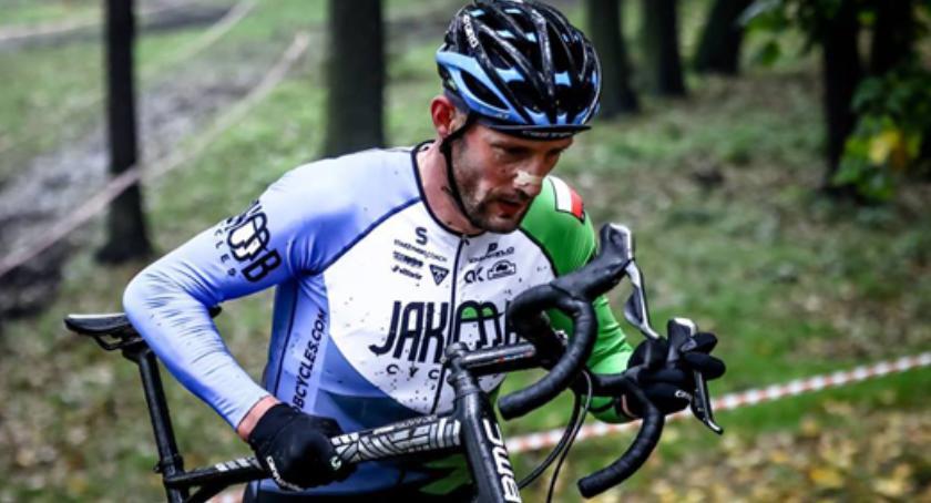 kolarstwo, Jarosław Wolcendorf Brwinowa Rowerowym Wicemistrzem Polski kolarstwie przełajowym - zdjęcie, fotografia