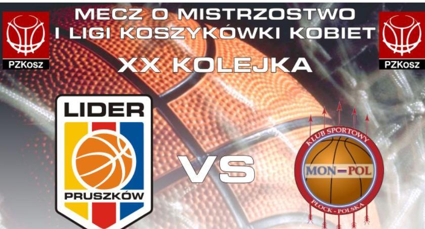 koszykówka, LIDER Pruszków kolejka Panattoni Europe LIDER Pruszków Płock 2018//godz - zdjęcie, fotografia
