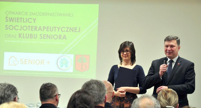 inwestycje, Gmina Brwinów Senior+ świetlica ŚOPS Żółwinie - zdjęcie, fotografia