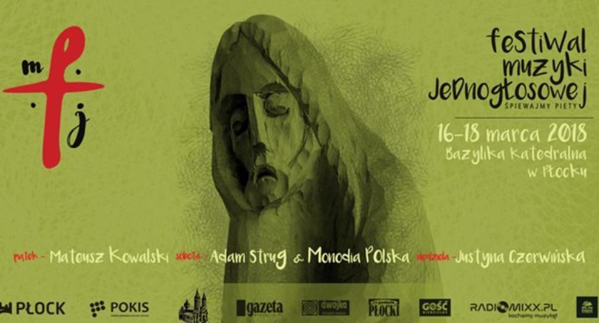 koncerty, Festiwal Muzyki Jednogłosowej płockiej katedrze - zdjęcie, fotografia