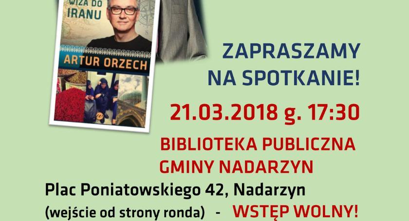 historia, Artur Orzech zapraszamy spotkanie Biblioteka Publiczna Gminy Nadarzyn - zdjęcie, fotografia