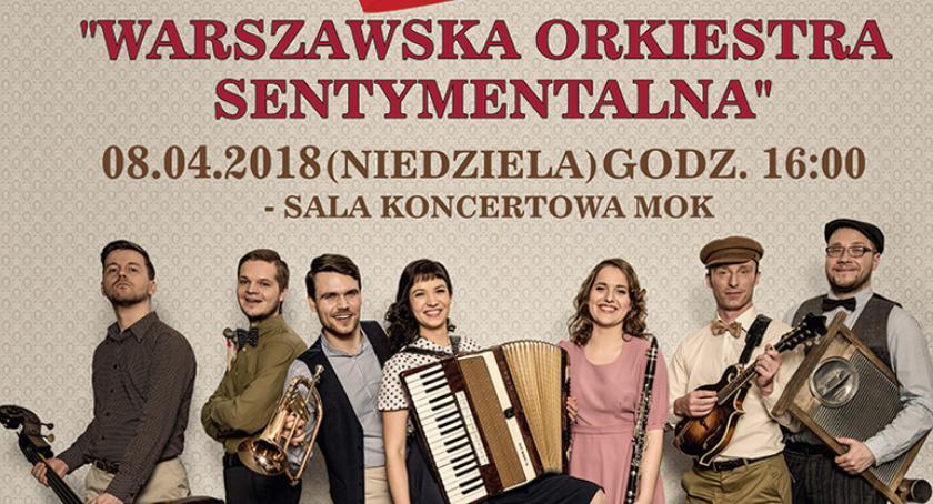koncerty, Pruszków zaprasza koncert zespołu Warszawska Orkiestra Sentymentalna - zdjęcie, fotografia