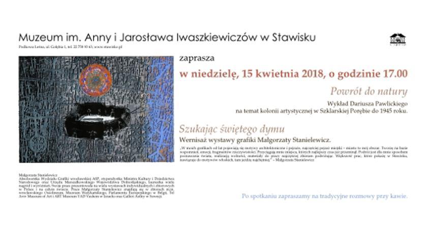 wystawy, Zaproszenie Muzeum Jarosława Iwaszkiewiczów Stawisku - zdjęcie, fotografia