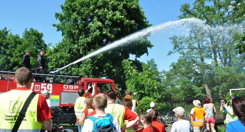 akcje charytatywne , Strażacy Ochotniczych Straży Pożarnych Brwinowa Moszny zapraszają dzień otwarty - zdjęcie, fotografia
