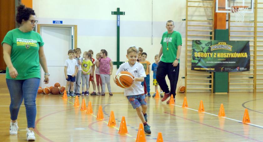 koszykówka, tylko koszykówką Pruszkowie - zdjęcie, fotografia