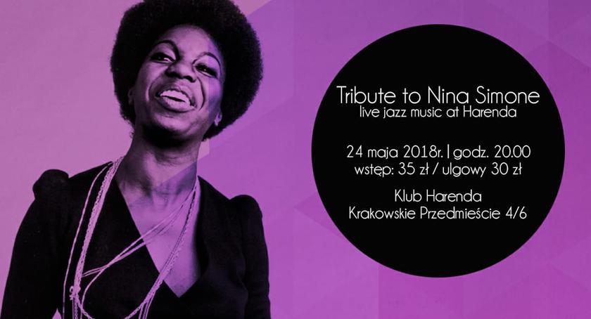 koncerty, Simone królowa tylko) jazzu wykonaniu cudownej wokalistki Trąbińskiej! - zdjęcie, fotografia