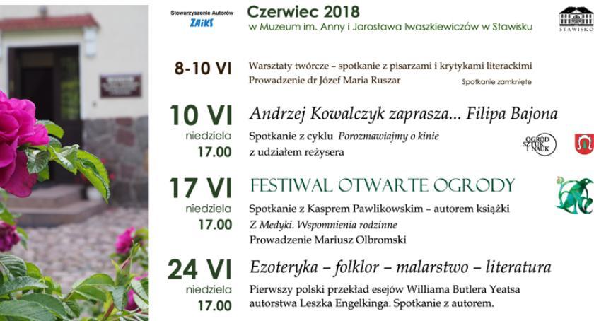 rozrywka, Zaproszenie Stawiska czerwiec - zdjęcie, fotografia