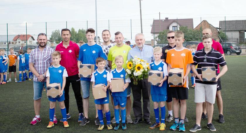 piłka nożna, Europejski projekt Polish Soccer Skills zawitał Komorowa - zdjęcie, fotografia