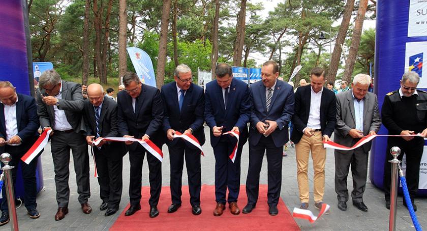 radni , lecie współpracy gminy Brwinów gminą Trzebiatów - zdjęcie, fotografia
