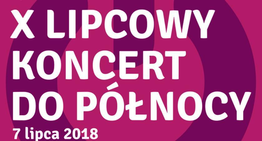 koncerty, Lipcowy koncert północy pruszkowskim parku Kościuszki - zdjęcie, fotografia