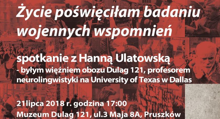 rozrywka, Spotkanie Ulatowską Muzeum Dulag - zdjęcie, fotografia