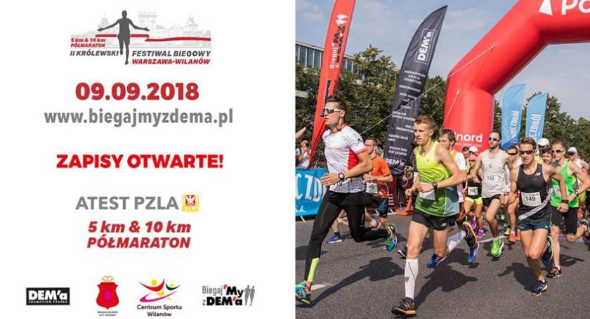biegi, Królewski Festiwal Biegowy Warszawie - zdjęcie, fotografia