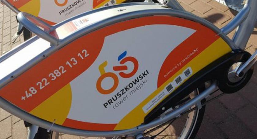 inwestycje, Została uruchomiona kolejna stacja Pruszkowskiego Roweru Miejskiego - zdjęcie, fotografia