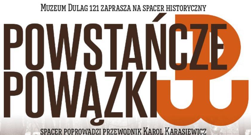 edukacja, Powstańcze Powązki spacer historyczny rocznicę Powstania Warszawskiego - zdjęcie, fotografia