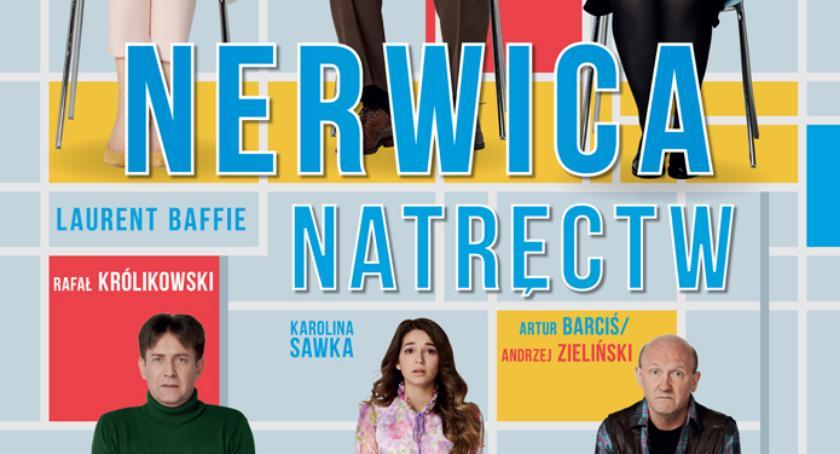 """teatr, """"Nerwica Natręctw"""" reżyserii Artura Barcisia Pruszkowie - zdjęcie, fotografia"""
